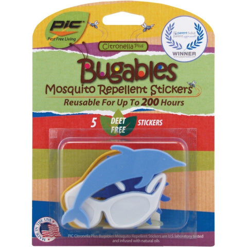 2 Packages Bugables Mosquito Repellent Stickers