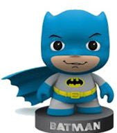 DC Comics Little Mates Figurine And Puff Sticker - The Red Store .org
