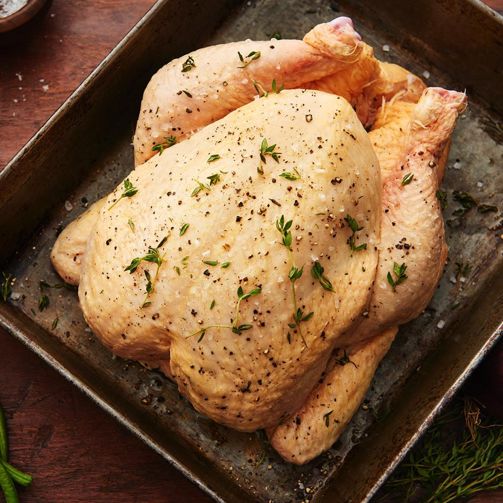 Label Anglais Whole Chicken