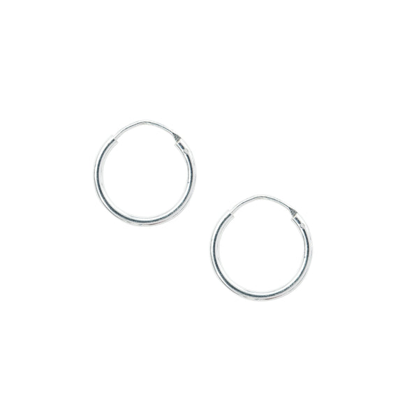 Minimal Small Hoop Earrings Handmade UK