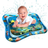 Baby Tummy Time Play Water Mat - Inflatable Pad kids water mat MSA