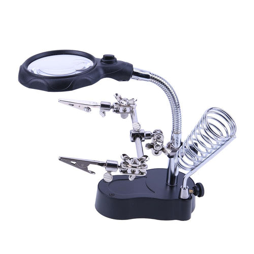 Welding Magnifying Glass With LED Light Repair Tools Magnifying Glass MojoTrend