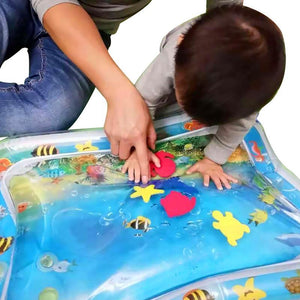 Baby Tummy Time Play Water Mat - Inflatable Pad