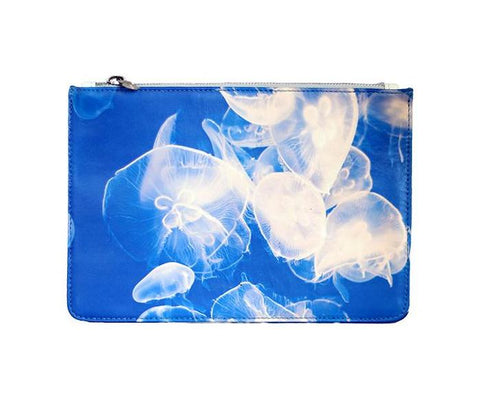 Unabashed™ Fractal Art Pouch- Jellyfish - Not Only Bags