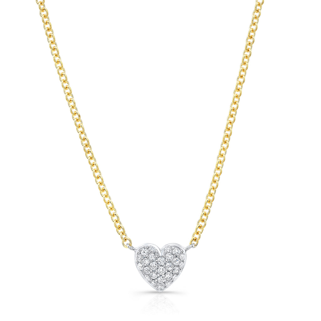 Petite Full Heart Necklace