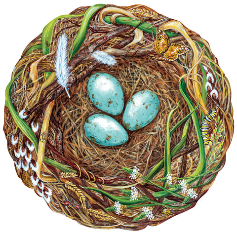 Die-Cut Woodland Nest