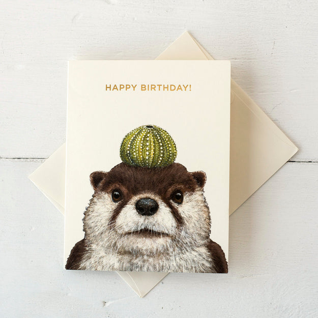 Othello Otter Card
