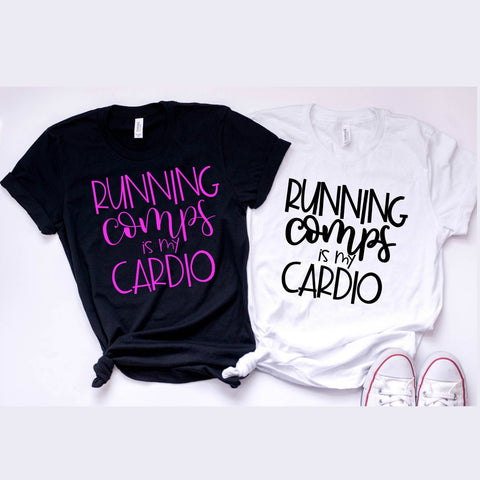 Running Comps is my Cardio Realtor Shirt