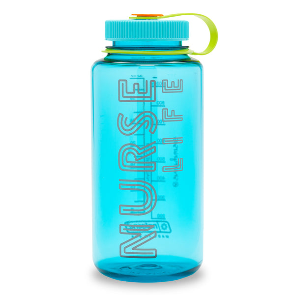 Nalgene® Nurse Life Cerulean Water Bottle