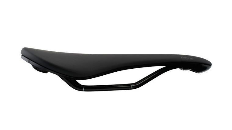 Fabric Scoop Elite Saddle Shallow - Black/Black - Cycles Galleria Melbourne