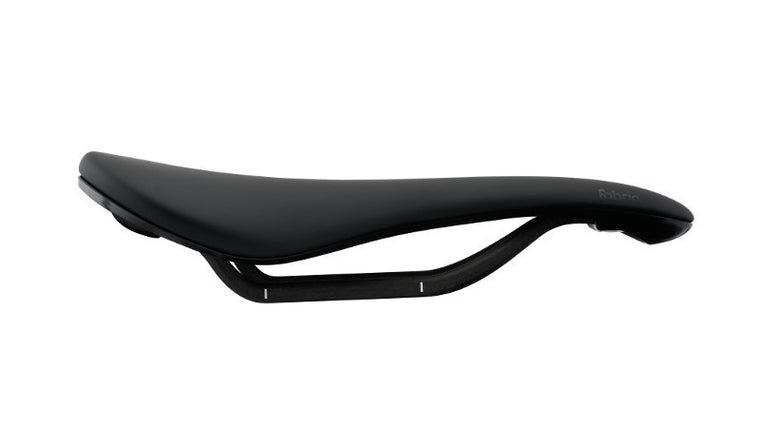Fabric Scoop Pro Saddle Shallow - Black/Black - Cycles Galleria Melbourne