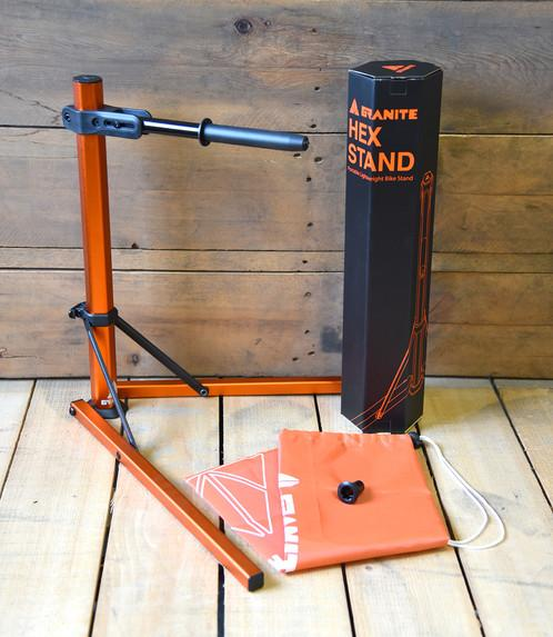 Granite Design Hex Stand incl. Shimano M20 Adaptor & Carry Bag