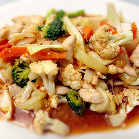 24. Stir Fried Sweet & Sour
