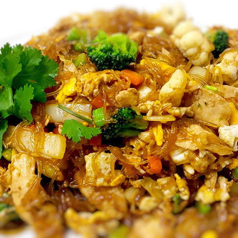 32. Stir Fried Glass Noodle and egg