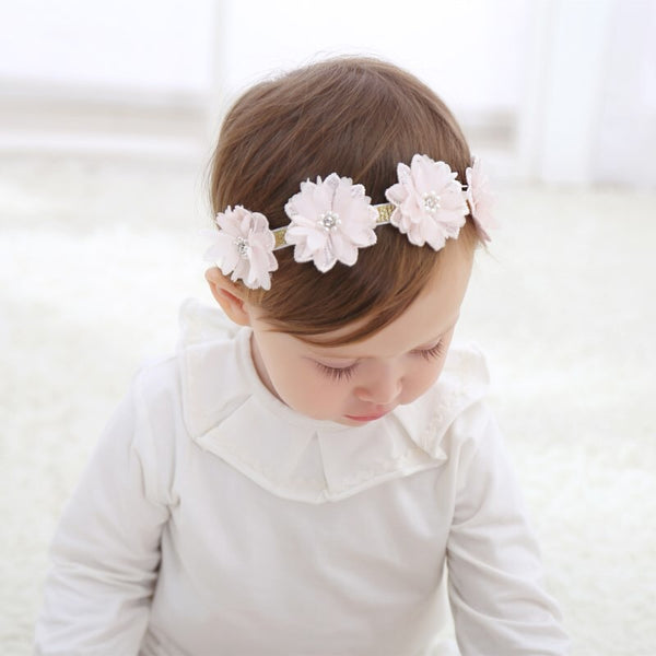 Multi Flower Headband