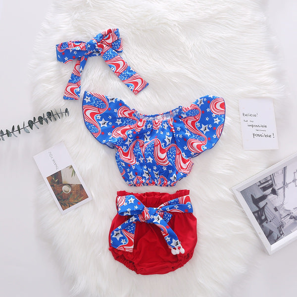 Abstract Print Swimsuit