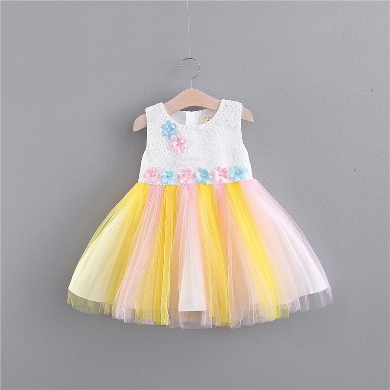 Flower Tutu Princess Dress