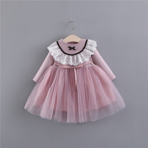 Bow And Lace Princess Dress