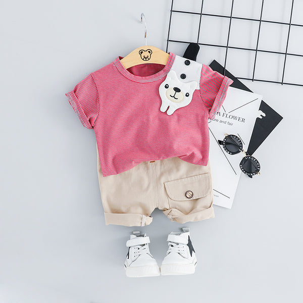 Striped Bear Summer Set