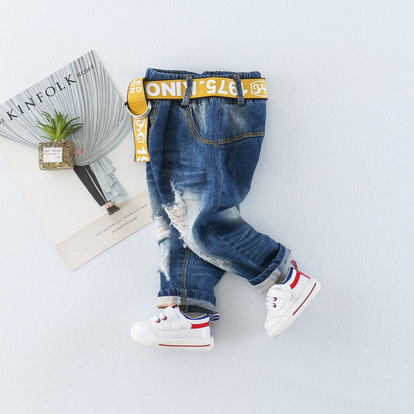 Ripped Baby Denims