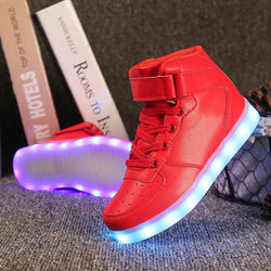 High Top Led Shoes