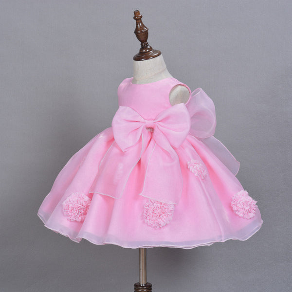 3D Flower Princess Dress