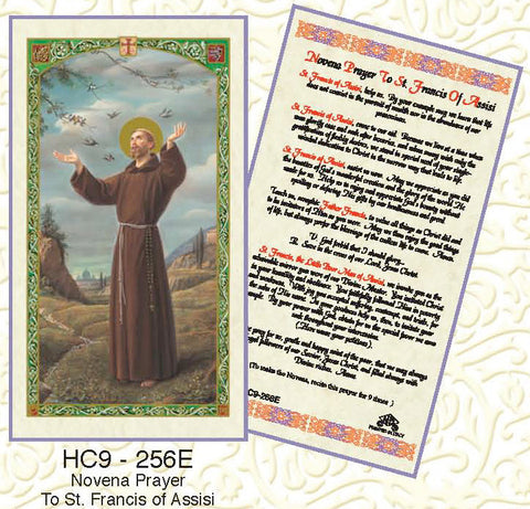 St. Francis of Assisi Novena - Discount Catholic Store