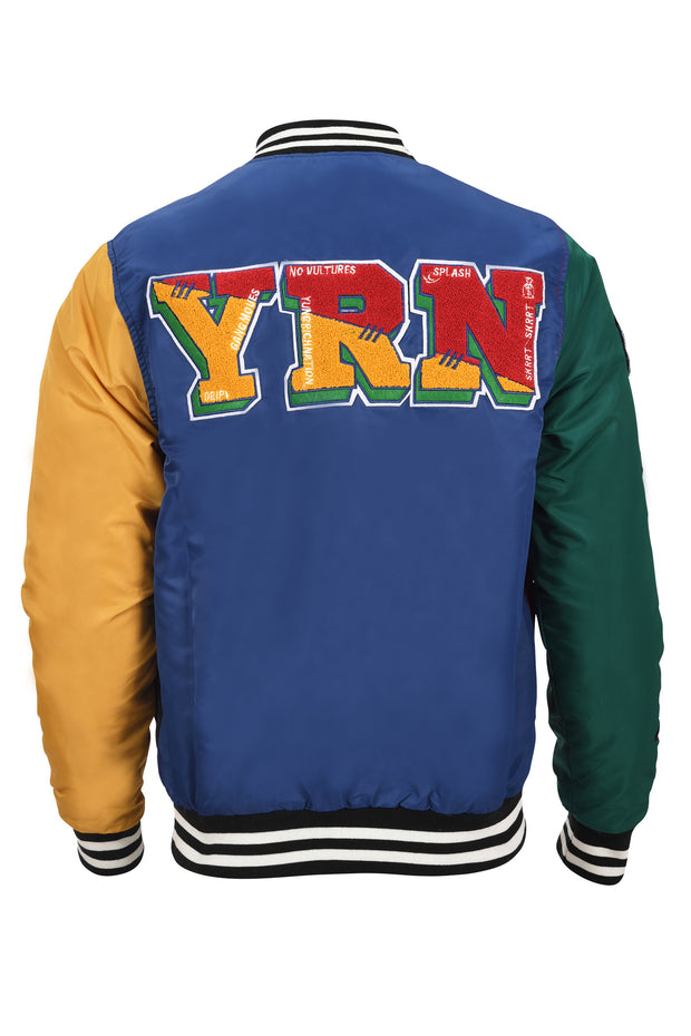 Migos College Block Varsity Jacket