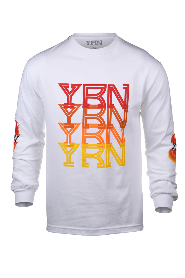 YRN Pixel Flame Long Sleeve