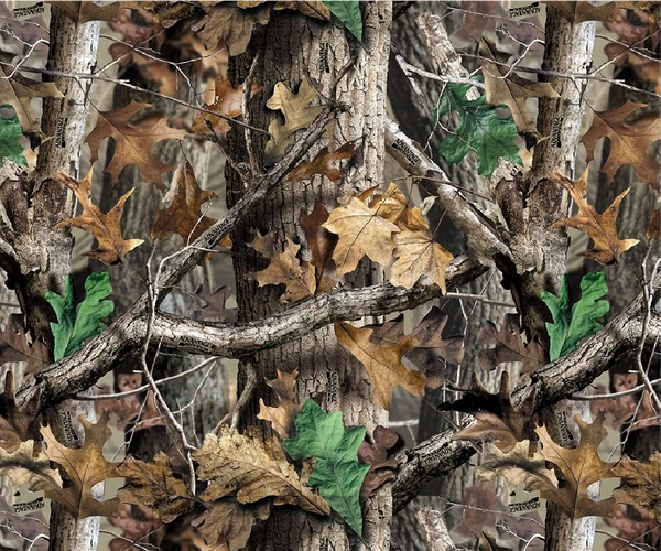 """Mossy Oak Camo"" Permanent Adhesive Vinyl OR Heat Transfer Vinyl"