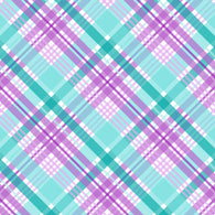 """Purple Spring Plaid 1"" Pattern Vinyl and Heat Transfer Vinyl"