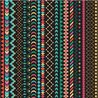 """Boho Chains"" - Heat Transfer Vinyl Patterns"