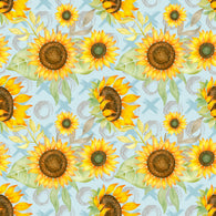 """Capture the Sunflower"" Heat Transfer Vinyl Sheets and Permanent Adhesive Vinyl Sheets"