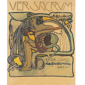 D.A.P. Publishing Ver Sacrum: The Vienna Secession Art Magazine 1898–1903 from the Wynwood Shop