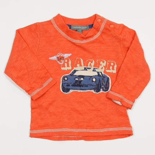 Boys Longsleeve - 00-03 Orange Sports Car Longsleeve