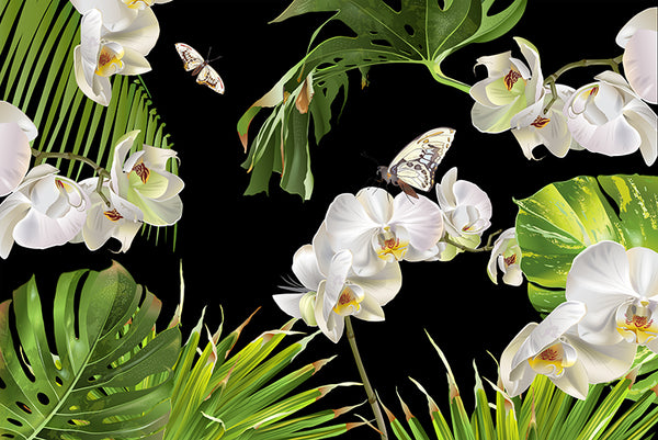 Tropical Orchid - Canvas
