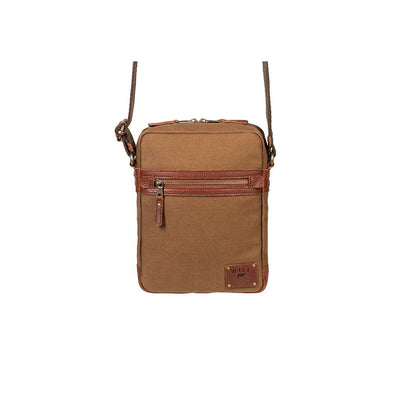 Canvas Archer Quiver -- Backorder Messenger WillLeatherGoods Tobacco/Saddle August 21 Delivery