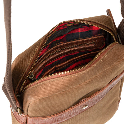 Canvas Archer Quiver -- Backorder Messenger WillLeatherGoods