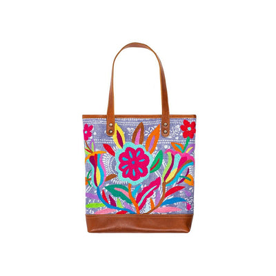 Otomi Flores Tote Tote WillLeatherGoods 25