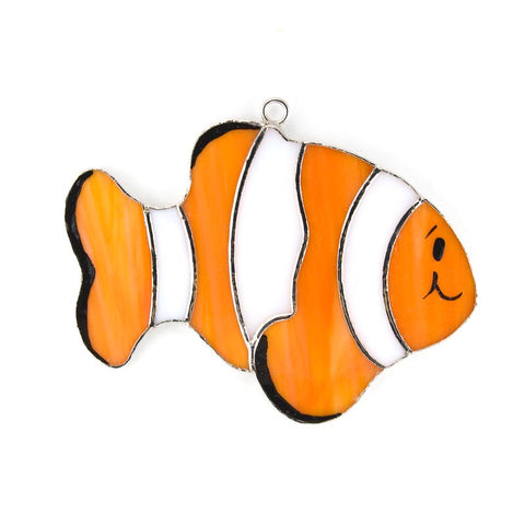 Glass Cover- Clown Fish