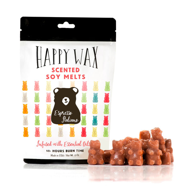 Espresso Italiano 2 Oz. Sample Pouch - Fun shapes make mixing and melting a breeze!