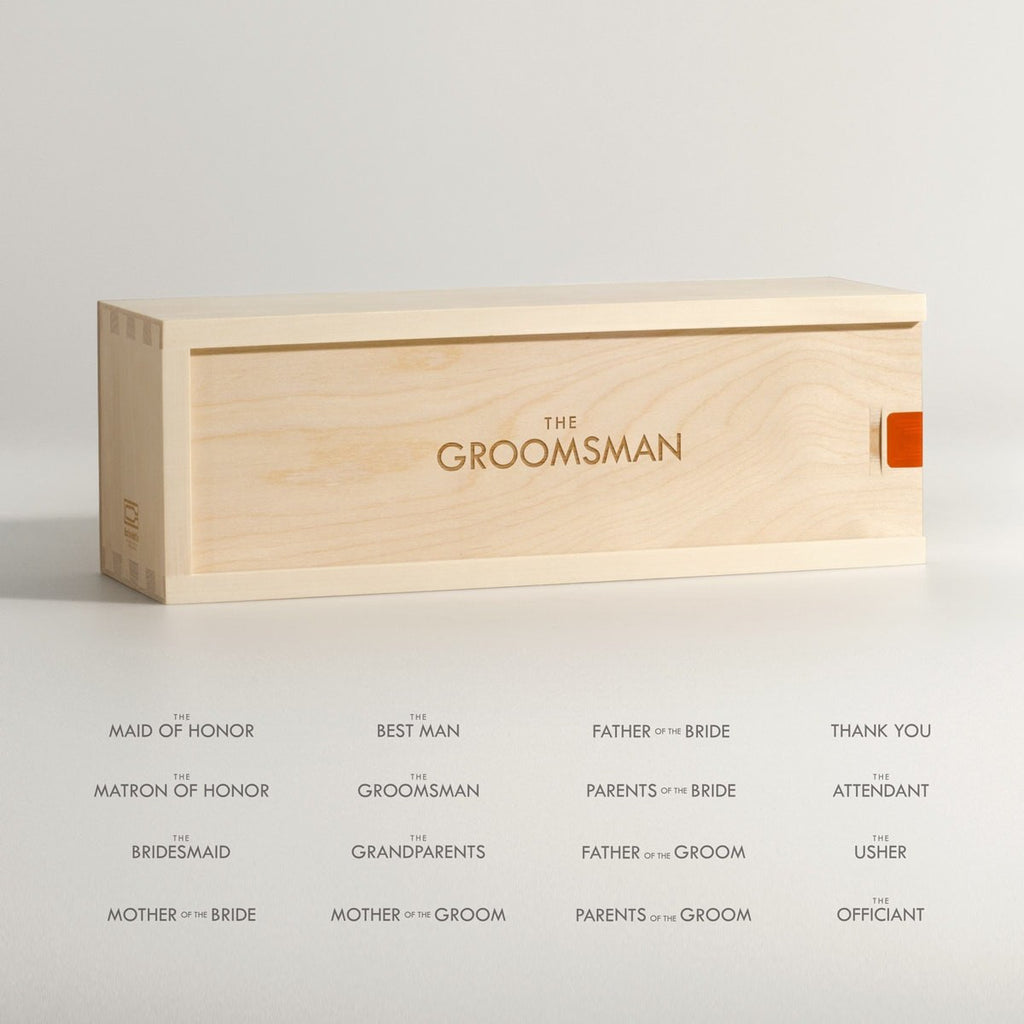 Wedding Party Classic - Wine Box - Detail Image