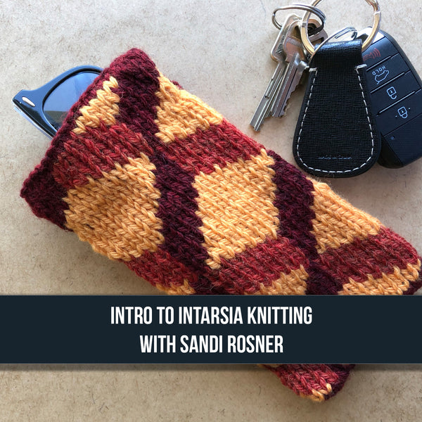 Introduction to Intarsia Knitting - ONE SESSION