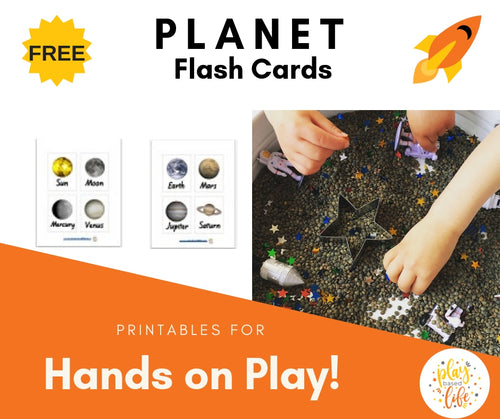 Planet Flash Cards