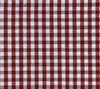 Gamecocks Garnet and Black Gingham Palmetto Palm Tree Game Day Dog Bow Tie