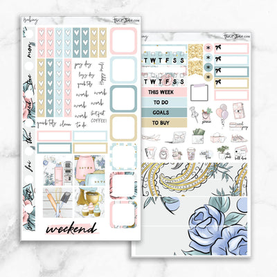 BAKING Hobonichi Weekly Size Planner Sticker Kit-The GP Studio