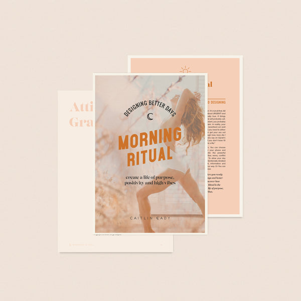 Morning Ritual + High-Vibe Day Planner