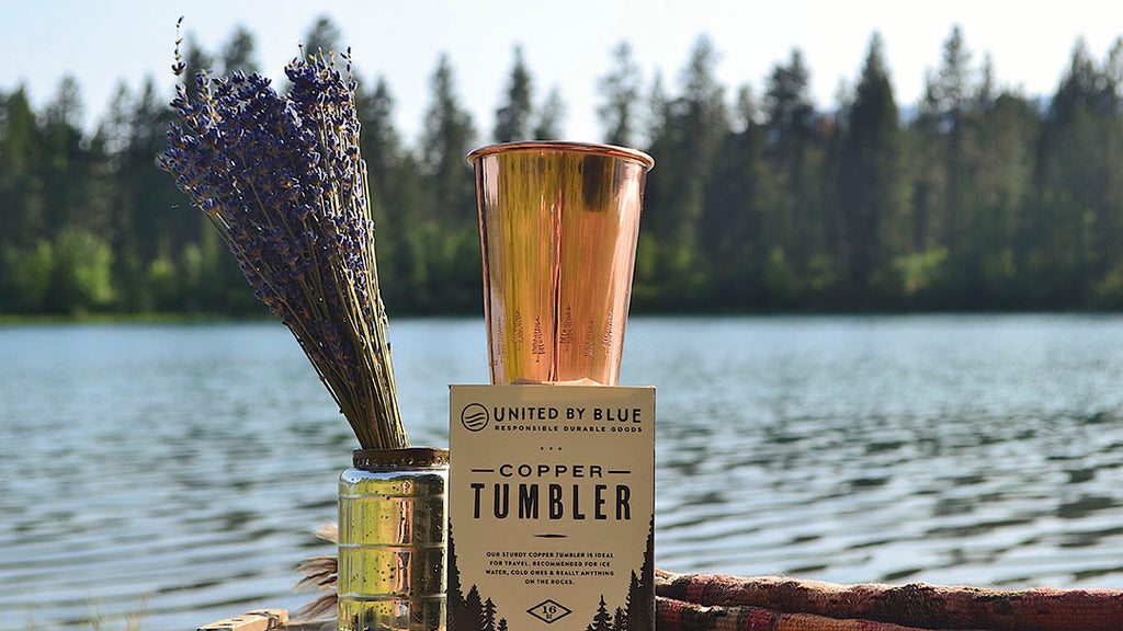 The copper tumbler from United By Blue