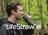 LifeStraw water filters and bottles