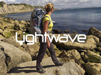 Lightwave rucksacks and sleeping bags